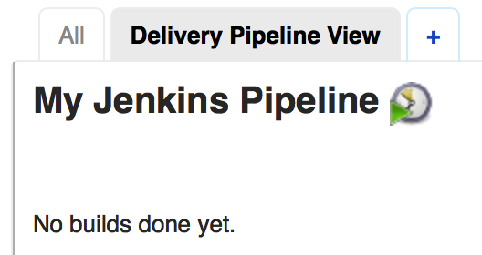 Delivery Pipeline View Created