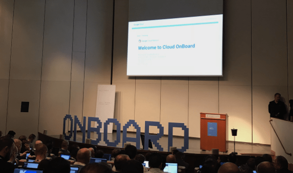 Google Cloud Onboad Picture